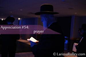Appreciation #54: prayer