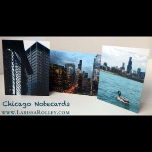 Chicago Notecards – set