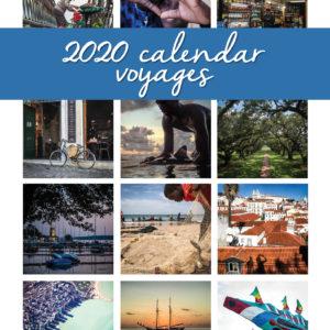 2020 Desktop Calendar – Voyages