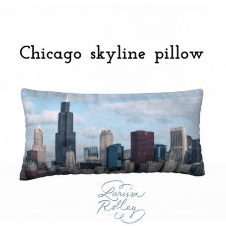 Chicago Skyline Pillowcase front