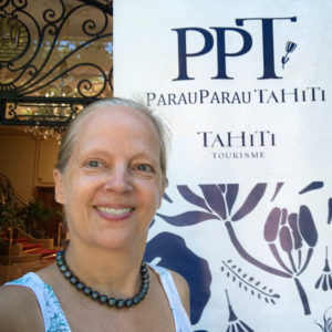 Larissa in Tahiti